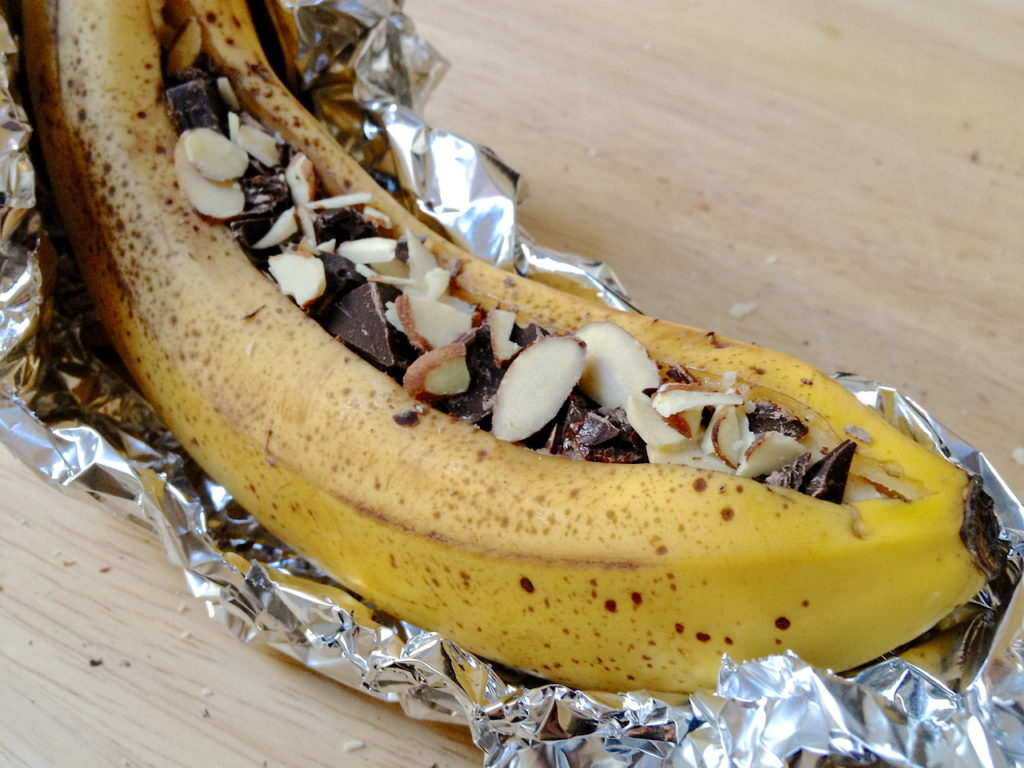 banan z piekarnika