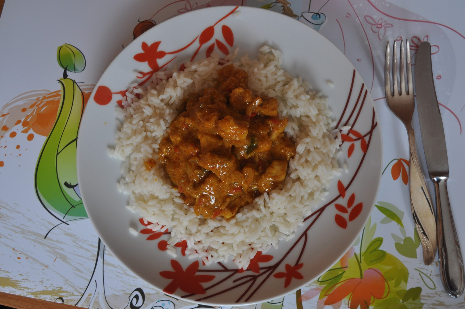 Kurczak Curry – Fit