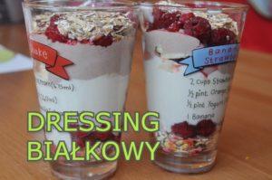 dressing białkow