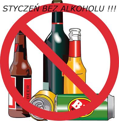 Wyzwanie – Styczeń bez alkoholu !