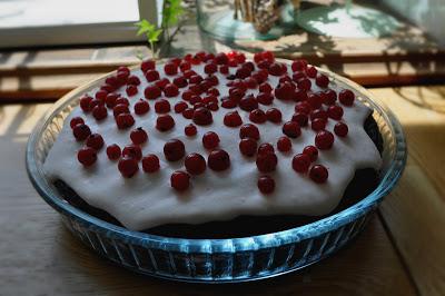 Tort Fasolowy z Kremem