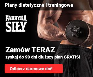 Fabryka Siły koszt miesięczny diety.