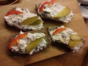 Pomysł na dietetyczne kanapki
