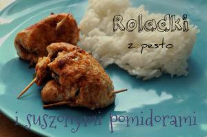 Roladki z kurczaka z pesto