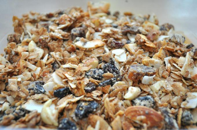 Białkowa granola domowej roboty