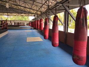 Trening Muay Thai w Tajlandii