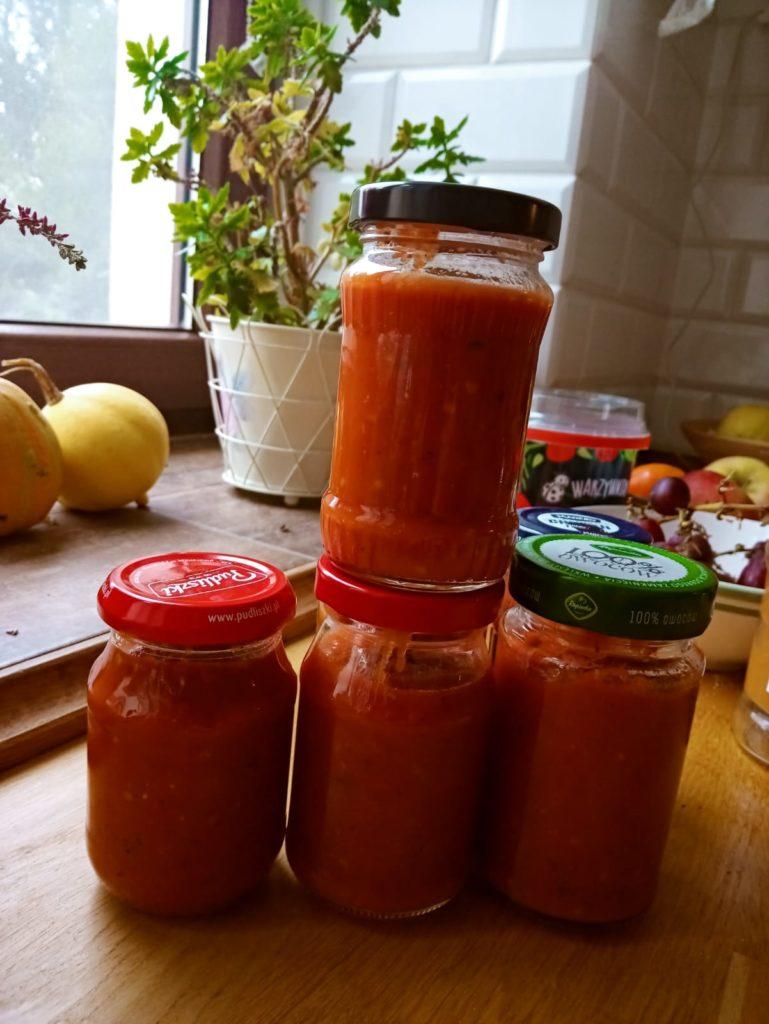 Domowy fit ketchup